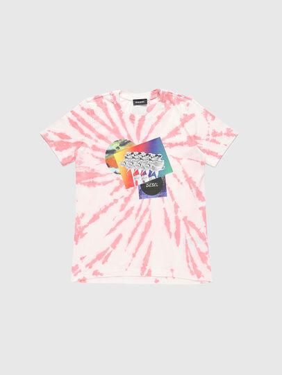Diesel - TSILYTD, Rosa/Weiss - T-Shirts und Tops - Image 1