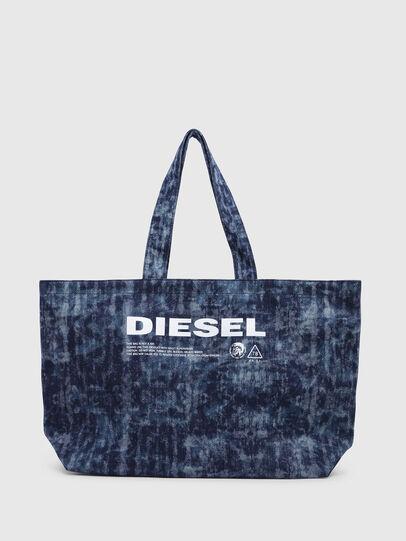 Diesel - D-THISBAG SHOPPER L, Jeansblau - Shopper und Schultertaschen - Image 1
