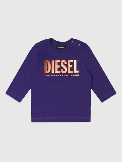 Diesel - TJUSTLOGOB-FL ML, Violett - T-Shirts und Tops - Image 1