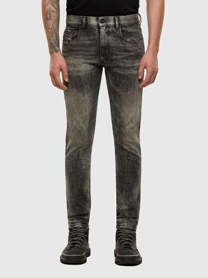 D-Strukt 009EV, Schwarz/Dunkelgrau - Jeans