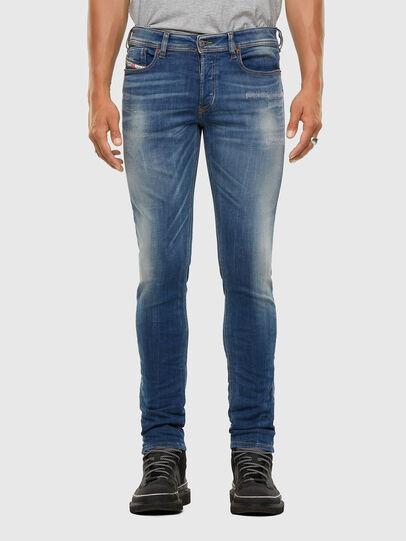 Diesel - Sleenker 009FC, Mittelblau - Jeans - Image 1
