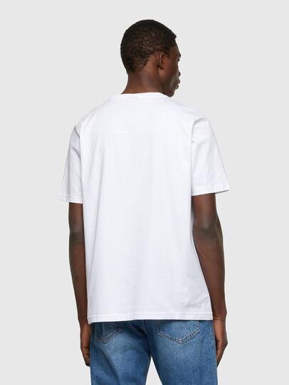 Diesel - T-JUST-A34, Weiß - T-Shirts - Image 2