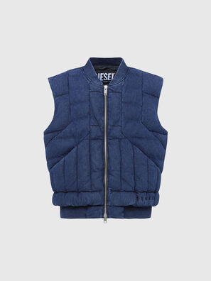 D-WAIN, Blau - Denim jacken
