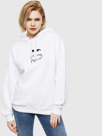 Diesel - F-ANG-HOOD-S1,  - Sweatshirts - Image 1