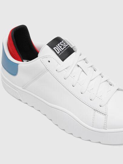 Diesel - S-SHIKA LOW LACE, Weiss/Blau - Sneakers - Image 4
