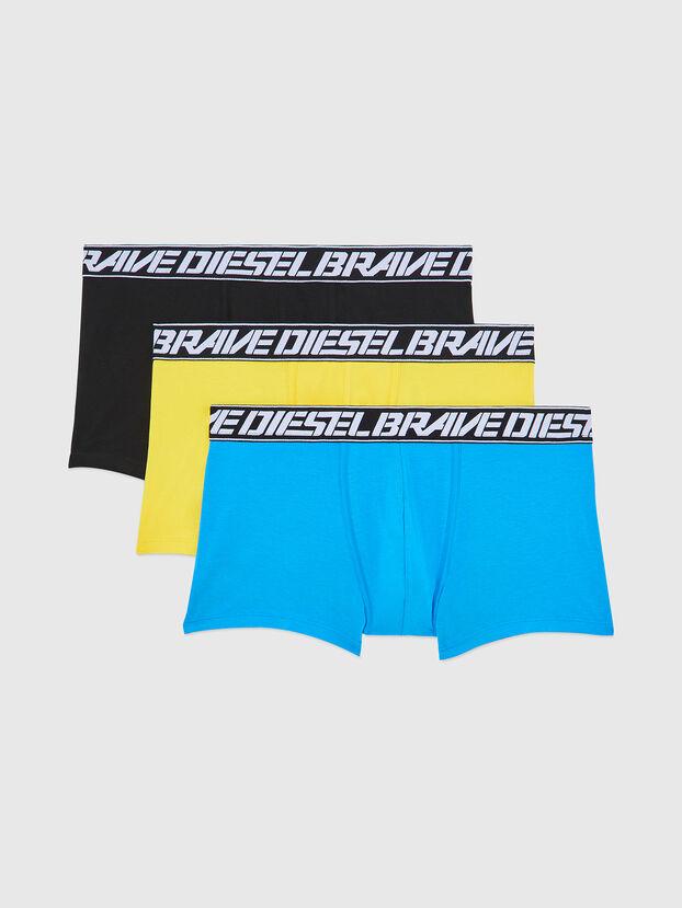 UMBX-DAMIENTHREEPACK, Blau/Gelb - Boxershorts