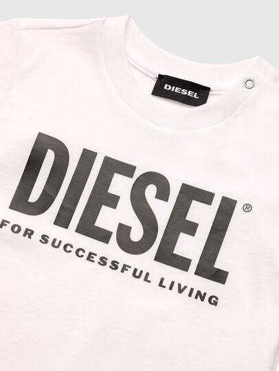 Diesel - TJUSTLOGOB, Weiß - T-Shirts und Tops - Image 3