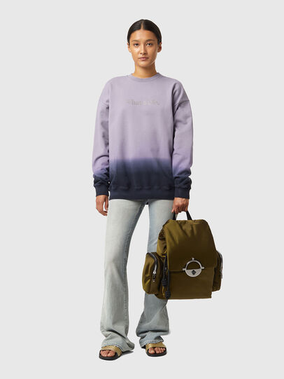 Diesel - S-MART-B4, Blau/Violett - Sweatshirts - Image 8