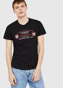 T-DIEGO-C4, Schwarz - T-Shirts