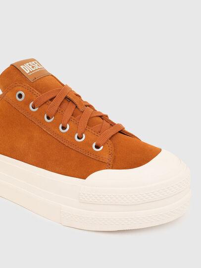 Diesel - S-JOMUA LC, Orange - Sneakers - Image 4