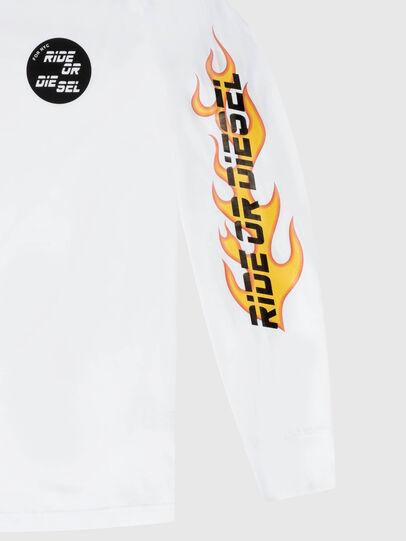 Diesel - US-T-JUST-LS-POP-MAR, Weiß - T-Shirts - Image 3