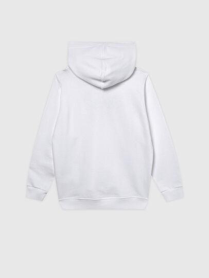 Diesel - SANGHOODKLIV, Weiß - Sweatshirts - Image 2