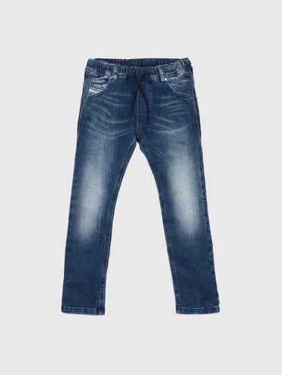 Diesel - KROOLEY JOGGJEANS J F, Mittelblau - Jeans - Image 1