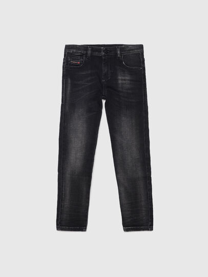 Diesel - D-SLANDY-HIGH-J JOGGJEANS, Schwarz/Dunkelgrau - Jeans - Image 1
