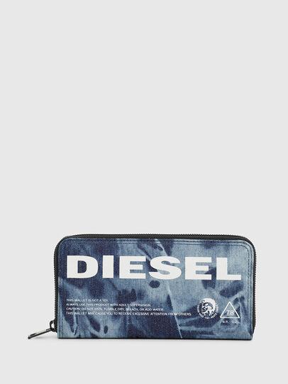 Diesel - 24 ZIP, Blau - Portemonnaies Zip-Around - Image 1