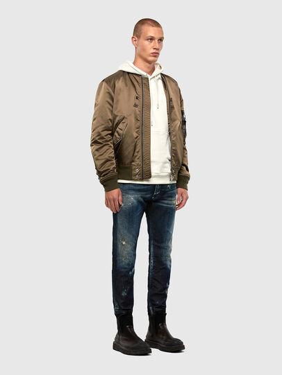 Diesel - Thommer JoggJeans 009KI, Dunkelblau - Jeans - Image 6