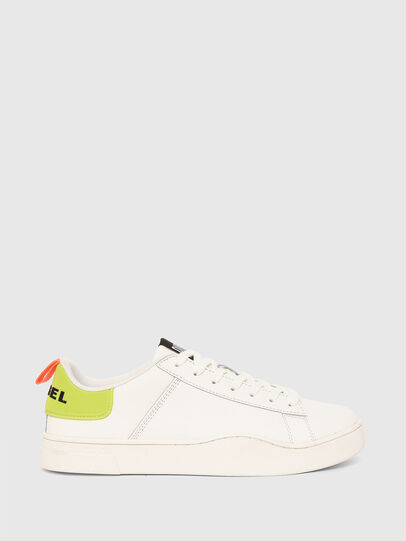 Diesel - S-CLEVER LOW LACE, Weiss/Gelb - Sneakers - Image 1