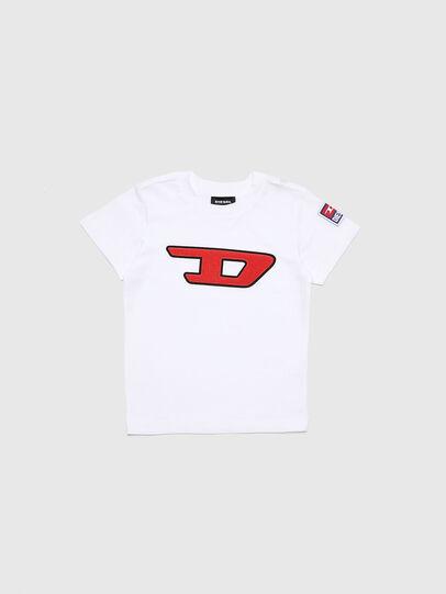 Diesel - TJUSTDIVISIONB-D-R, Weiß - T-Shirts und Tops - Image 1