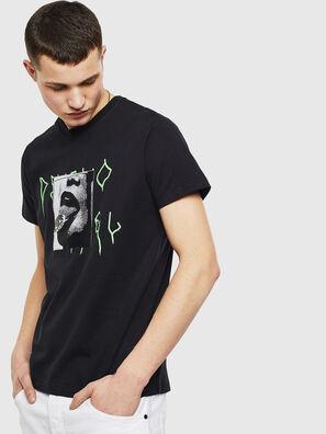 T-DIEGO-S12, Schwarz - T-Shirts