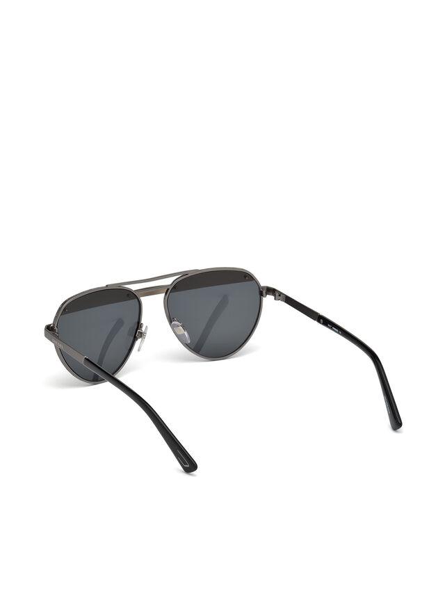 Diesel - DL0261, Schwarz/Grau - Sonnenbrille - Image 4