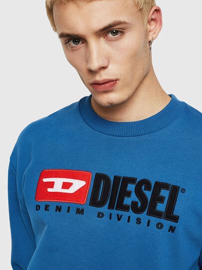 Diesel - S-CREW-DIVISION, Blau - Sweatshirts - Image 3
