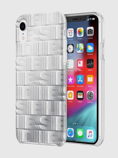 Diesel - DIESEL PRINTED CO-MOLD CASE FOR IPHONE XR, Weiß - Schutzhüllen - Image 1