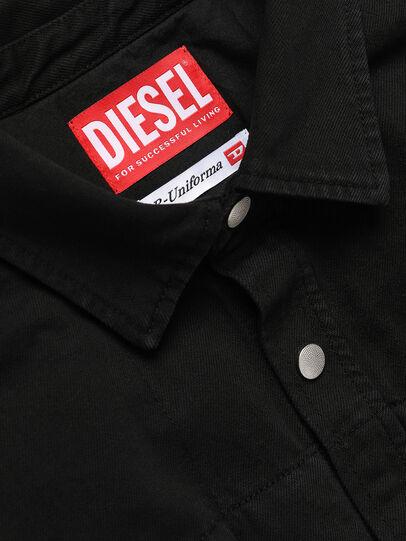 Diesel - GR02-B301, Schwarz - Denimhemden - Image 3