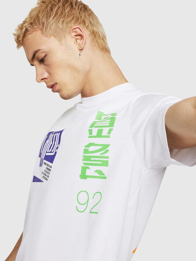 Diesel - T-JUST-Y20, Weiß - T-Shirts - Image 3