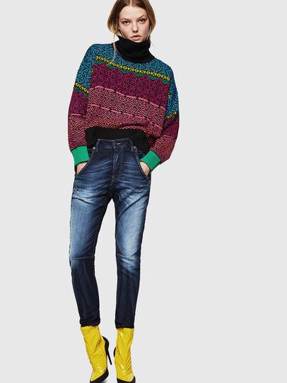 Diesel - Fayza JoggJeans 069IE, Dunkelblau - Jeans - Image 6