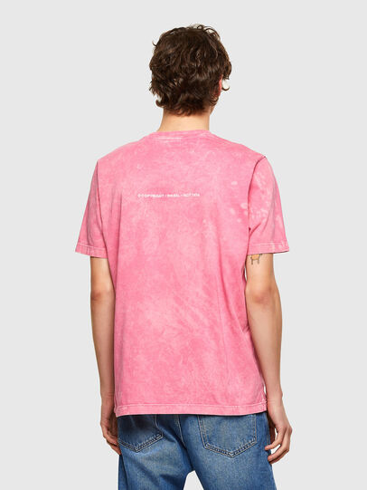 Diesel - T-JUST-E2, Rosa - T-Shirts - Image 2