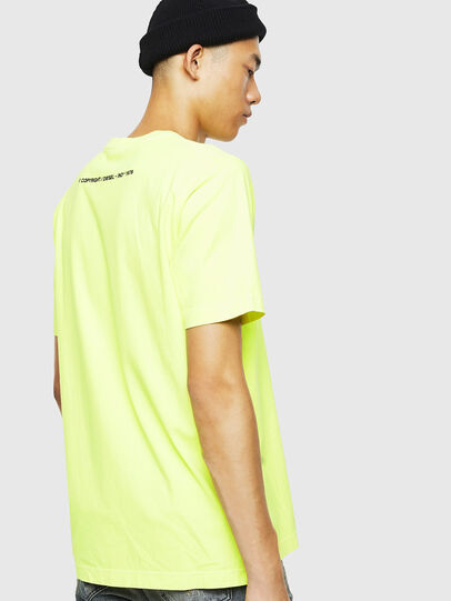Diesel - T-JUST-SLITS-FLUO,  - T-Shirts - Image 3