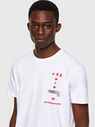 Diesel - T-DIEGOS-B4, Weiß - T-Shirts - Image 3