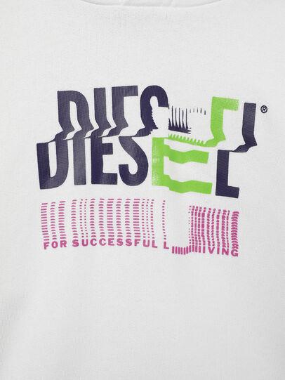 Diesel - SANGHOODKLIV, Weiß - Sweatshirts - Image 3