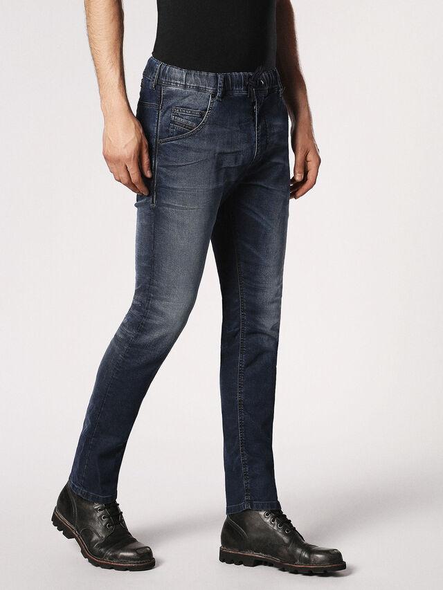 Diesel Krooley JoggJeans 0683Y, Dunkelblau - Jeans - Image 6
