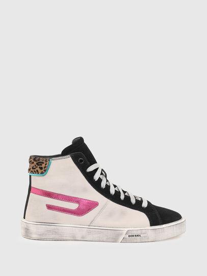 Diesel - S-MYDORI ML W, Rosa/Schwarz - Sneakers - Image 1