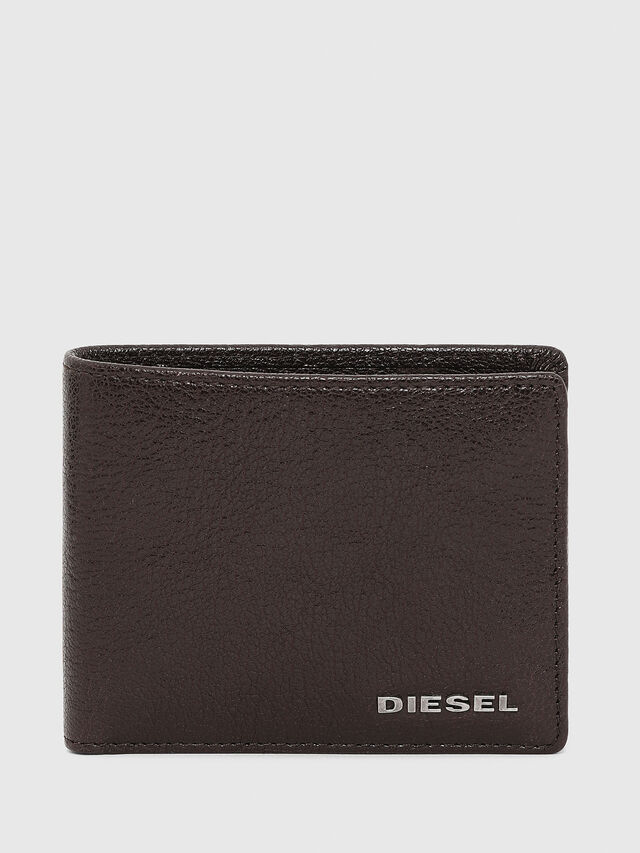 Diesel - HIRESH XS, Braun - Kleine Portemonnaies - Image 1