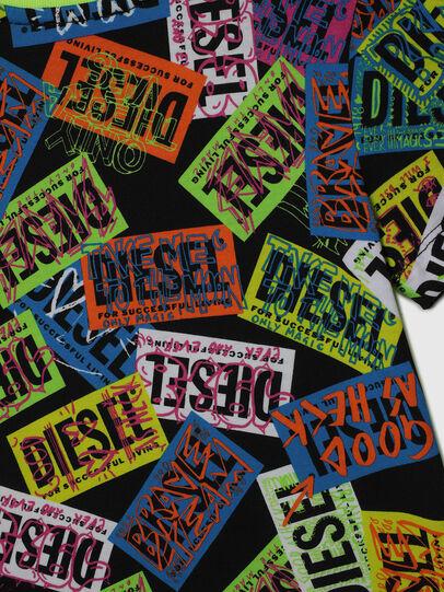 Diesel - TAIRB-R, Grün/Schwarz - T-Shirts und Tops - Image 4