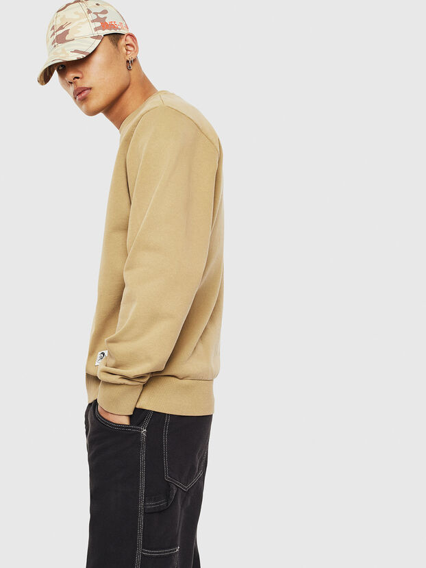 S-GIRK-WORK, Beige - Sweatshirts