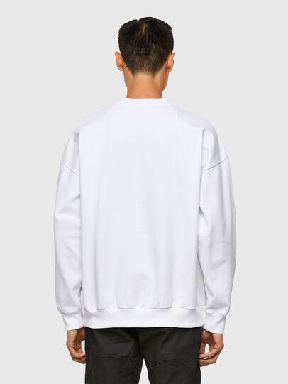Diesel - S-MART-A90, Weiß - Sweatshirts - Image 2