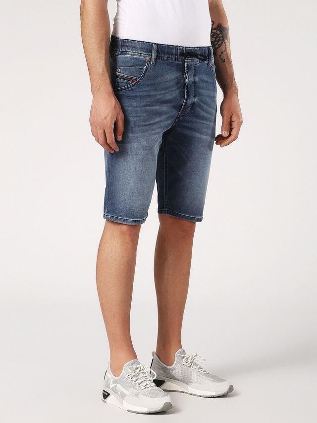 KROOSHORT JOGGJEANS, Jeansblau