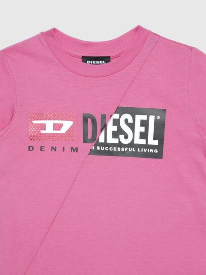 Diesel - TDIEGOCUTYB-FL ML-R, Rosa - T-Shirts und Tops - Image 3