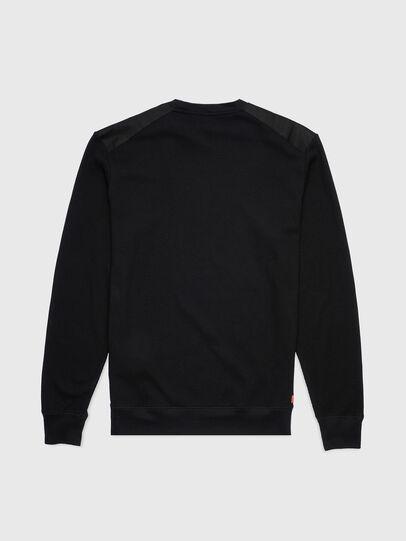 Diesel - UMLT-WILLY-W, Schwarz - Sweatshirts - Image 2
