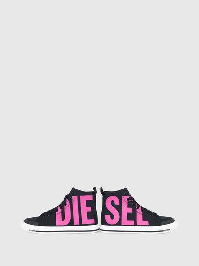 Diesel - S-ASTICO MID CUT W, Schwarz/Rosa - Sneakers - Image 4
