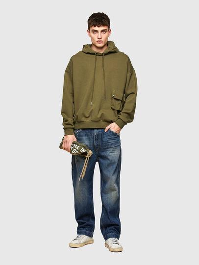Diesel - S-ERPOCK, Armeegrün - Sweatshirts - Image 5