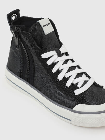 Diesel - S-ASTICO MID ZIP W, Schwarz - Sneakers - Image 4