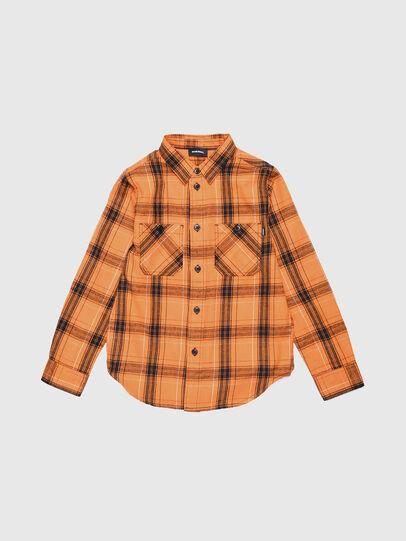 Diesel - COIZE, Orange/Schwarz - Hemden - Image 1