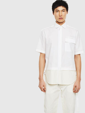 S-GIBBS, Weiß - Hemden