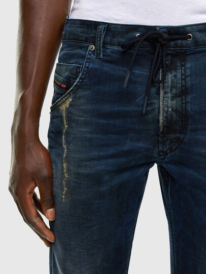 Diesel - Krooley JoggJeans 069NP, Dunkelblau - Jeans - Image 3
