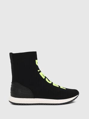 SLIP ON 04 MID SOCK, Schwarz - Schuhe