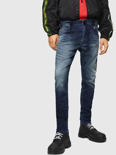 Diesel - Krooley JoggJeans 069HH, Dunkelblau - Jeans - Image 1